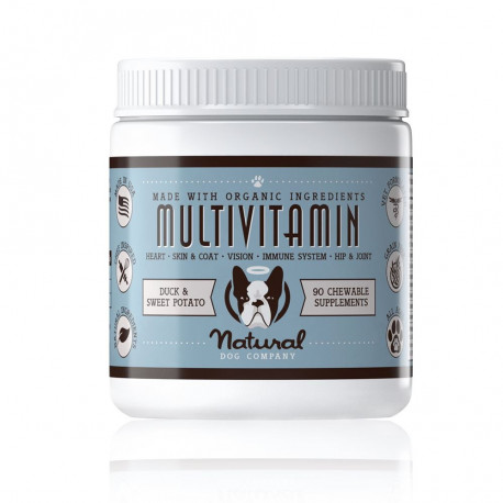 Complément alimentaire Multivitaminés Multivitamin® - Natural Dog Company