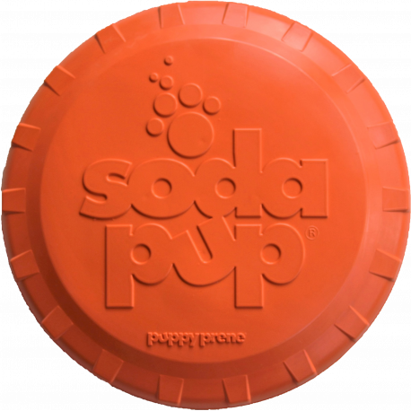 Frisbee orange Sodapup